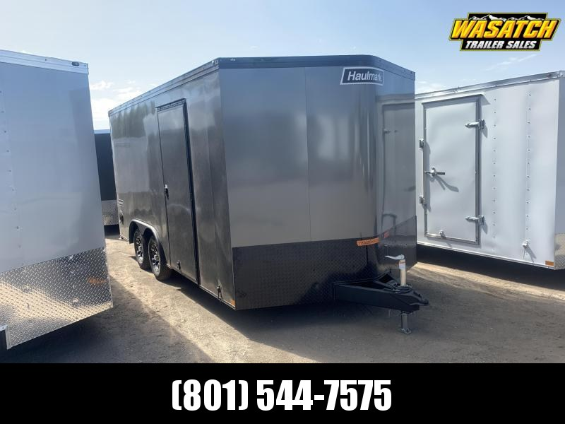 Haulmark 8.5x16 Transport w/ Black Trim Enclosed Cargo