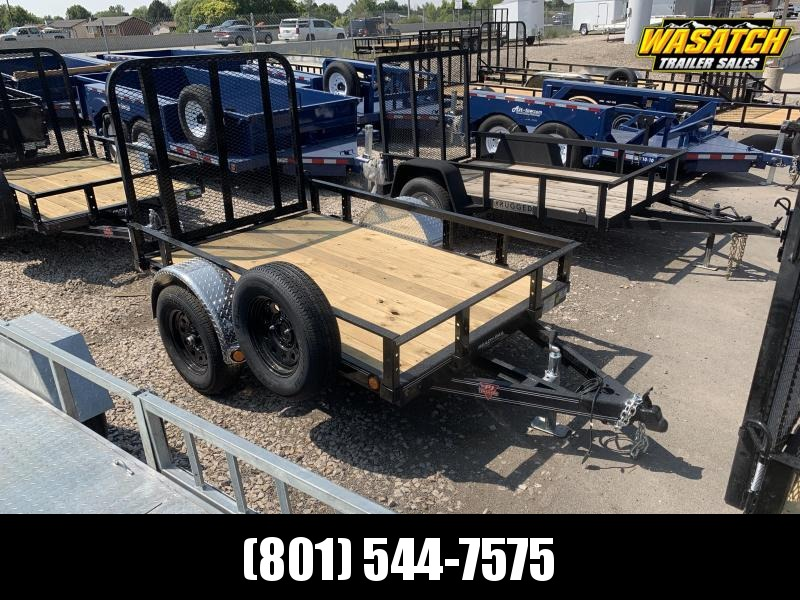 PJ 5x8 Single Axle Channel (U6) Utility