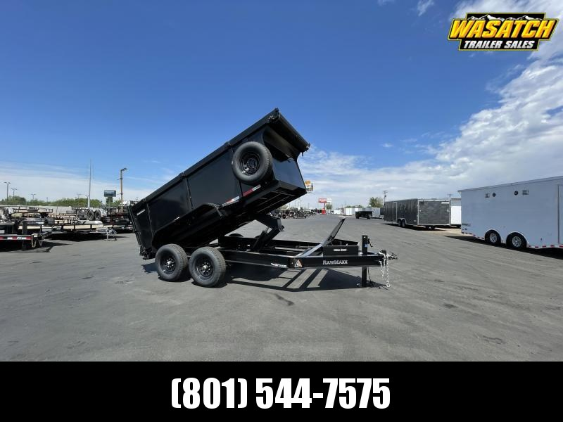 RawMaxx - 7x12 - Tandem 7k - 4' Sides - Dump Trailer