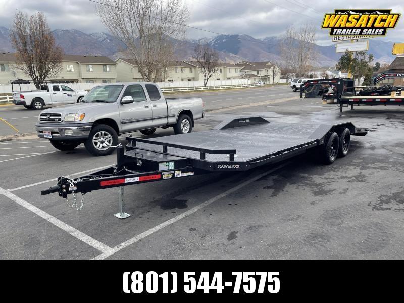 RawMaxx 22' Car Hauler / Equipment Trailer