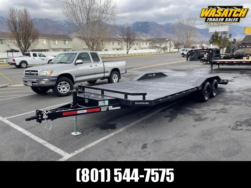 RawMaxx 22' Car Hauler / Equipment Trailer