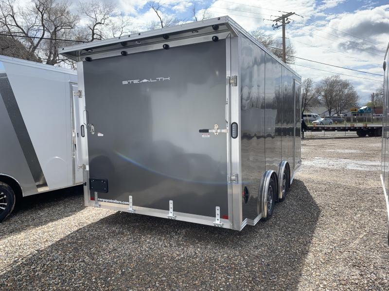 Alcom-Stealth 8x16 Aluminum Cargo