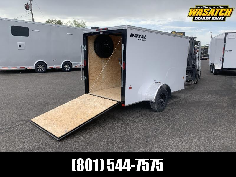 Royal Cargo 5x10 Single Axle Enclosed Cargo w/ Ramp