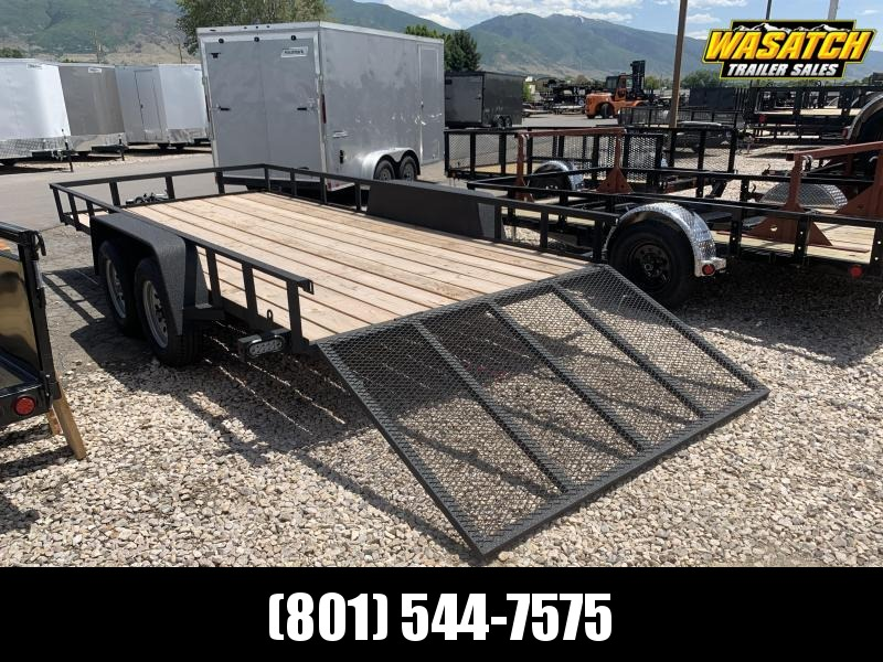 Charmac Trailers 7x16 Tandem Rugged Utility Trailer