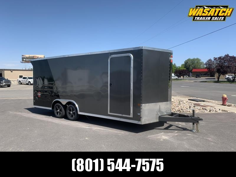 Charmac 100x20 Stealth Enclosed Cargo w/ UTV pkg