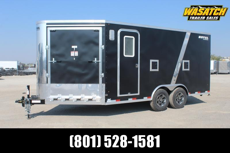 Southland Trailers 85x20 Royal Snowmobile Trailer