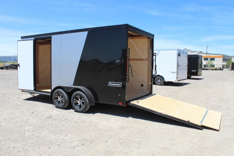 Haulmark 7x16 Transport Enclosed Cargo Trailer w/ UTV Package