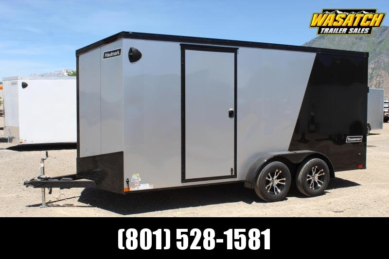 ***Haulmark 7x16 Transport Enclosed Cargo Trailer w/ UTV Package***