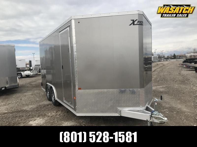 High Country 8.5x16 Xpress Enclosed Aluminum Car / Racing Trailer