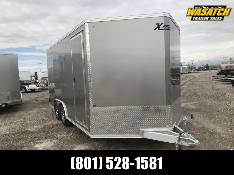 High Country 8x16 Xpress Enclosed Aluminum Car / Racing Trailer