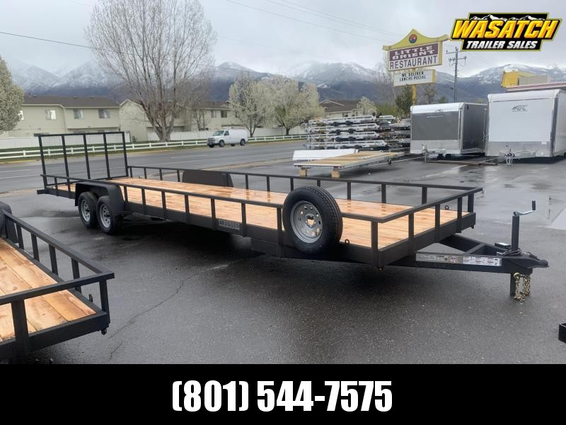 Charmac 7x30 Rugged Utility Trailer