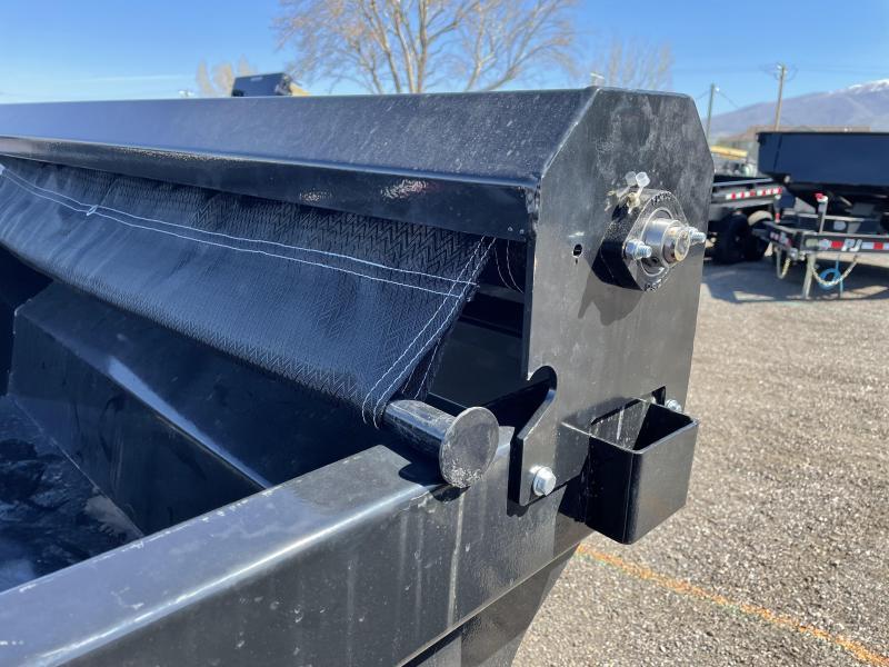 2021 RawMaxx 5x10 Tandem Dump Trailer