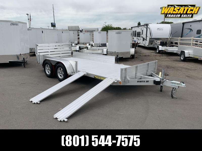 "Aluma 6'9""x16' (8116TASR) Aluminum Utility Trailer"