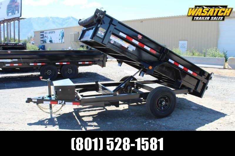 PJ Trailers 5x10 Utility Dump (D5) Dump Trailer
