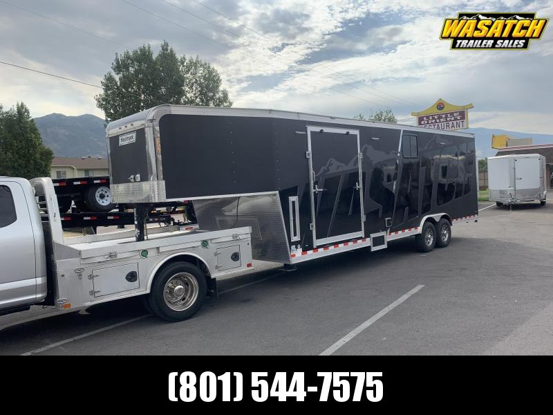 2019 Haulmark 26 ft Gooseneck Edge Snowmobile Trailer