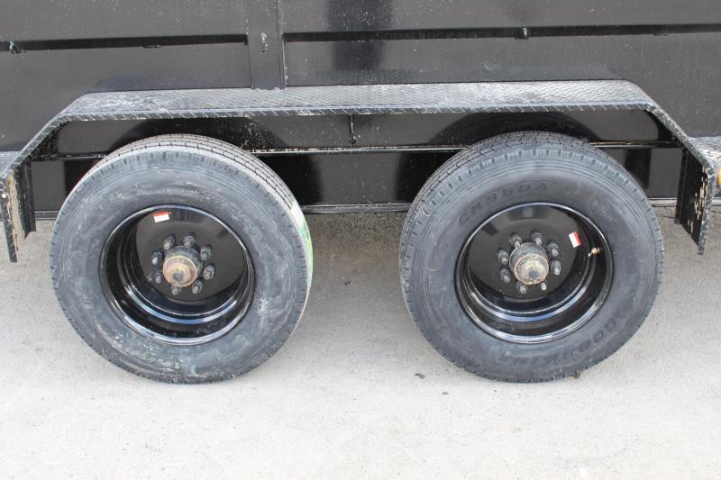 PJ Trailers 7x16 HD Low-Pro (DE) Dump Trailer