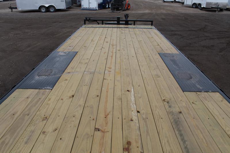 PJ Trailers 8.5x24 Deckover Tilt (T8) Flatbed Trailer