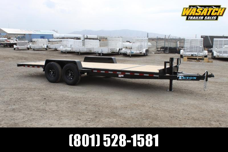 "Teton 7x20 Teton HD 5"" Tube Tilt Equipment Trailer"