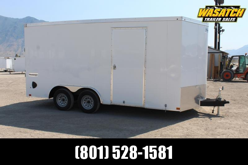 Haulmark 85x16 Passport Deluxe Enclosed Car / Racing Trailer