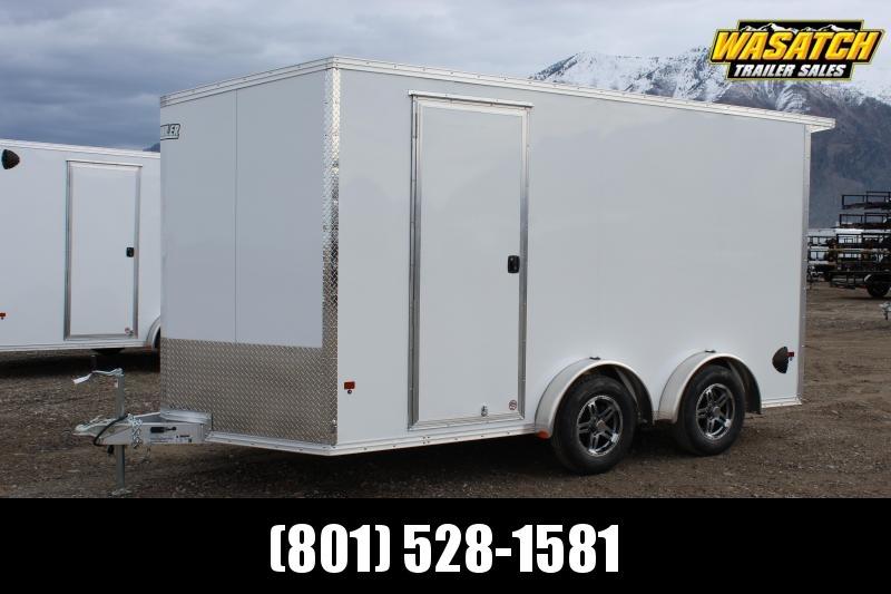 Alcom 7.5x14 EzHauler Aluminum Enclosed Cargo Trailer w/ UTV Package