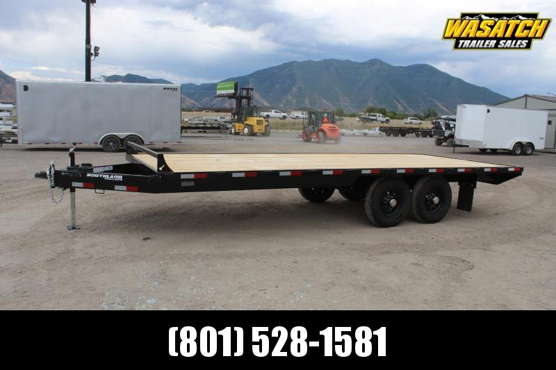 Southland Trailers 85x20 HD Tube Deckover Equipment Trailer w/ Torsion Suspension