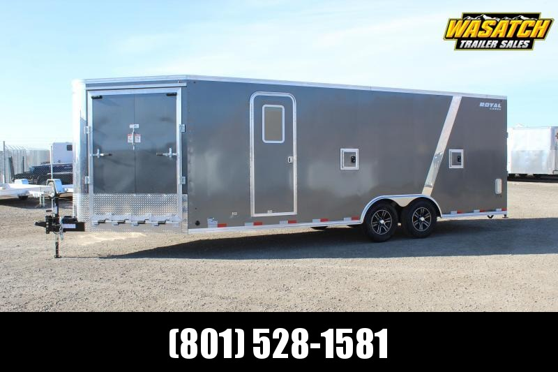 Southland Trailers 85x27 Royal Snowmobile Trailer