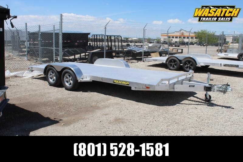 Aluma 8218 Aluminum Car / Racing Trailer