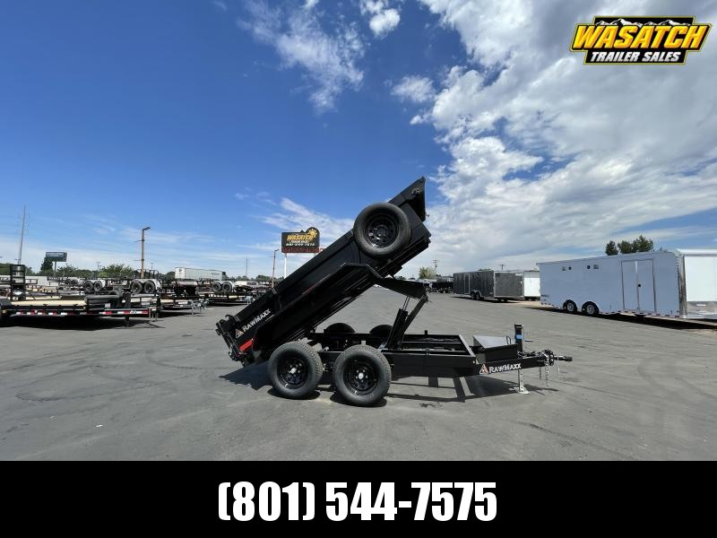 """RawMaxx - 5x10 - Tandem 3.5k - 18"""" Sides Dump"""