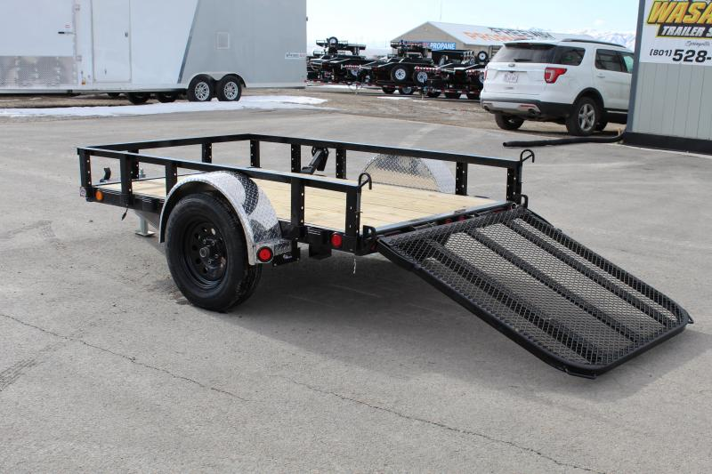 PJ Trailers 5x8 Single Axle Channel (U6) Utility Trailer