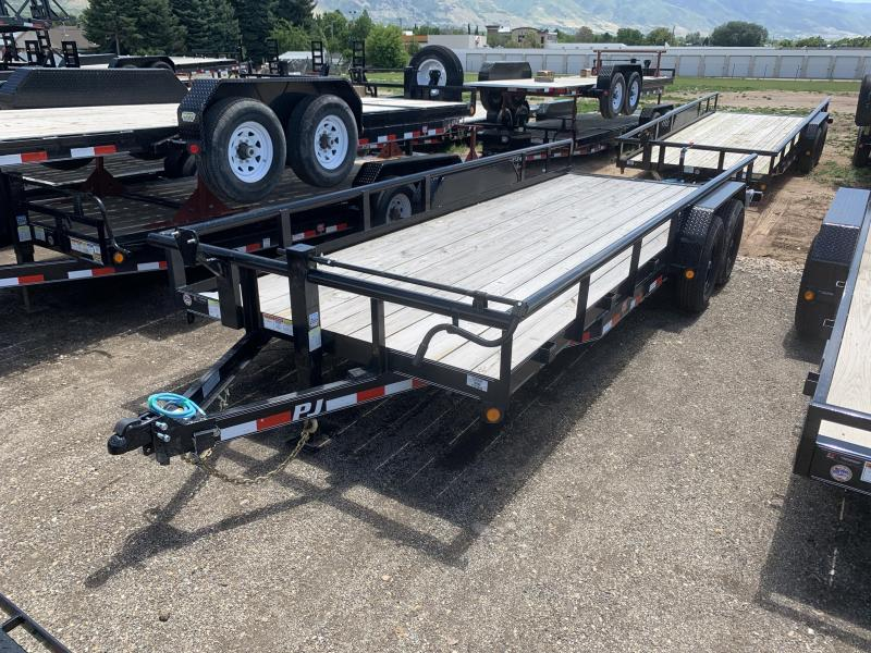 PJ 20' - Angle Pipetop (P8) Car / Racing Trailer