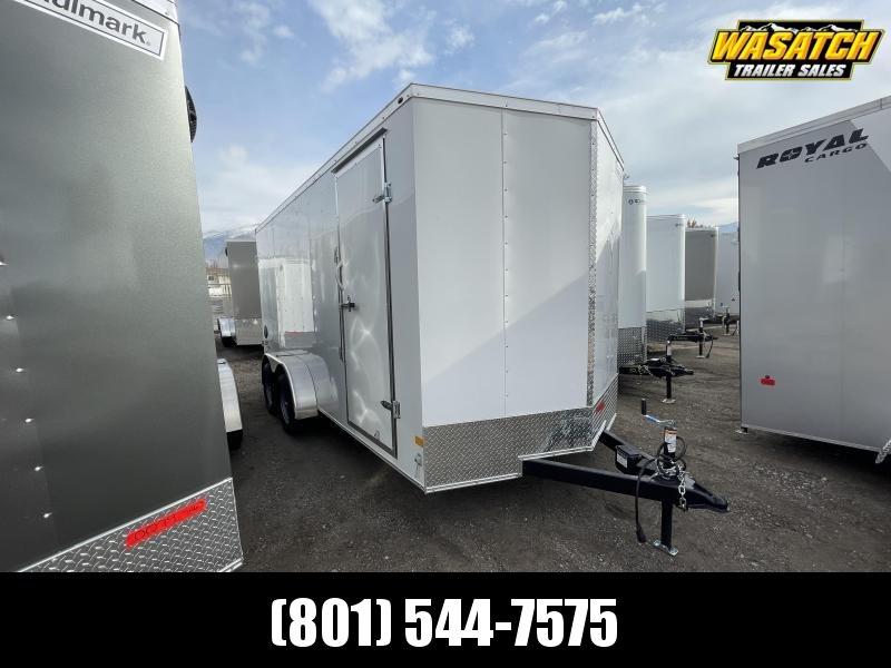 Haulmark 7x16 Passport Deluxe Enclosed Cargo w/ Barn Doors