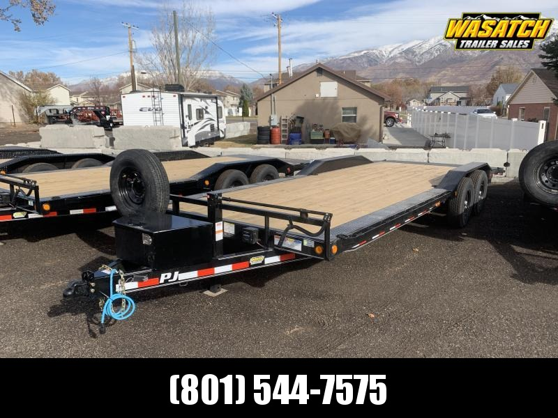 2021 PJ 24' - 6 in. Channel Super-Wide (B6) Car / Racing Trailer