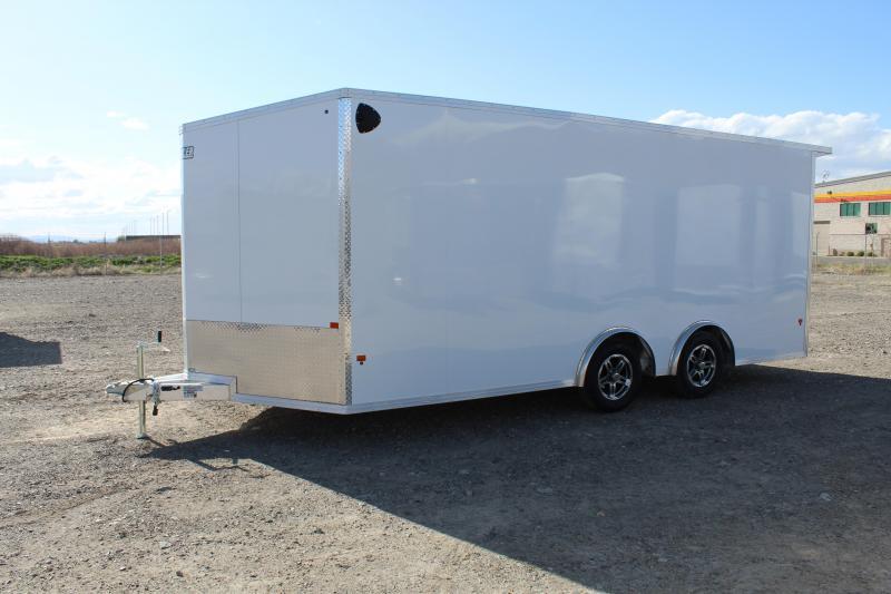 EZ Hauler 8.5x16 Aluminum Car / Racing Trailer