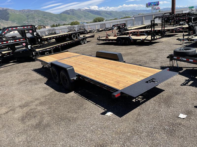 Teton 7x22 HD Tilt Equipment Trailer