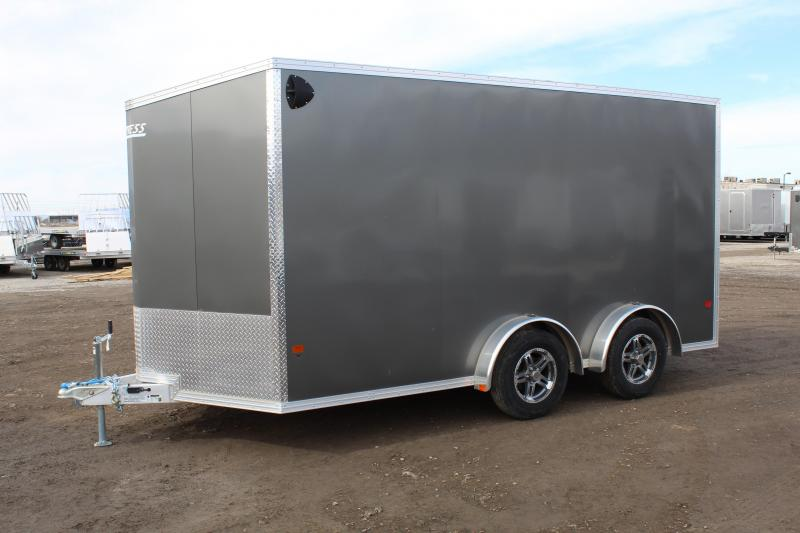 High Country 7.5x14 Xpress Aluminum Enclosed Cargo Trailer