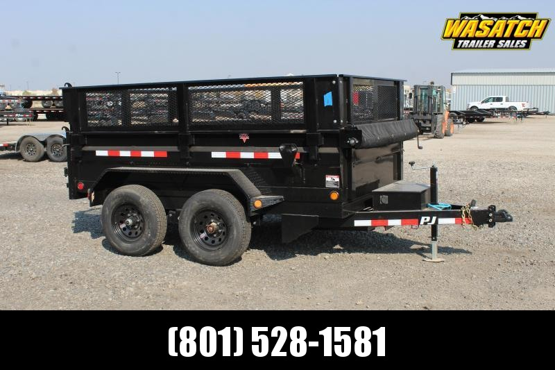 PJ Trailers 6x12 Tandem Axle Dump (D3) Dump Trailer