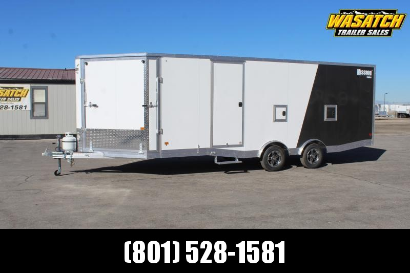 Mission 85x27 Allsport Peak Value Snowmobile Trailer