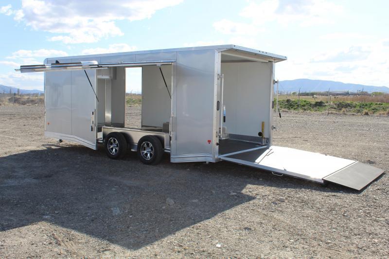EZ Hauler 8.5x20 Aluminum Car / Racing Trailer