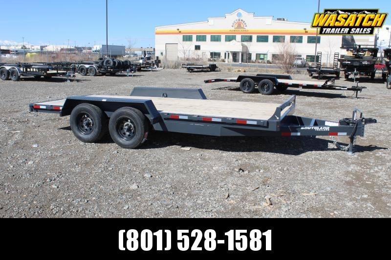 Southland Trailers 7x16 HD Tube Equipment Trailer