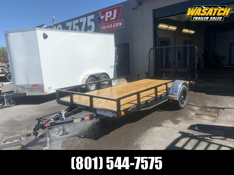 PJ 6.5x14 Single Axle Channel Utility (U7)