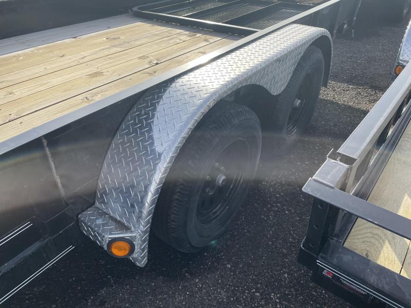 2020 PJ Trailers 6.5x18 Tandem Axle Channel Utility (UK) Utility Trailer