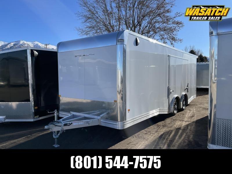 Alcom-Stealth 8x24 Aluminum Enclosed Cargo / Car Hauler