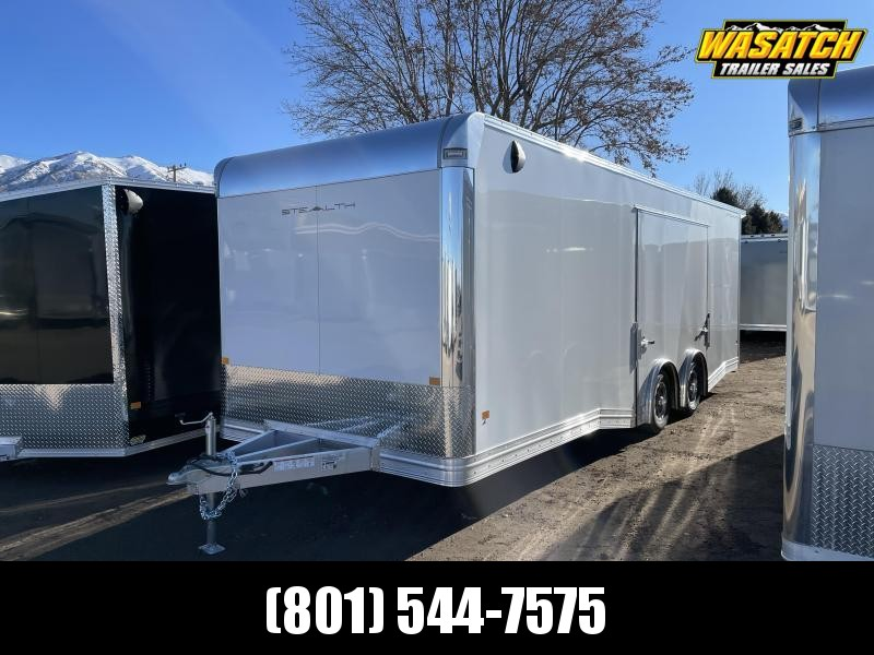 Alcom-Stealth 8x24 Aluminum Enclosed Cargo / Car Hauler