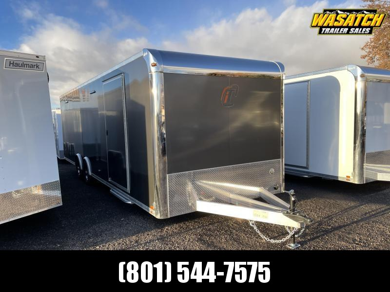 inTech Lite 28' inTech Aluminum Car / Racing Trailer