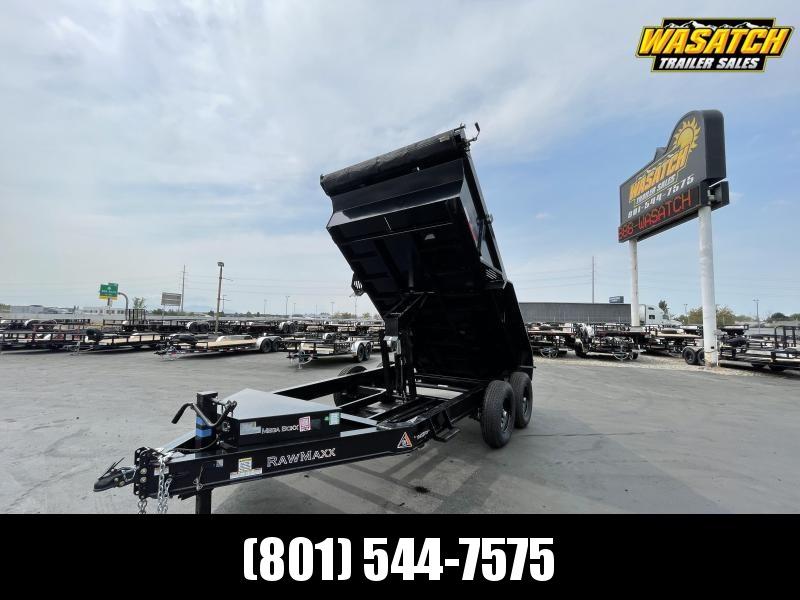 RawMaxx - 7x12 - Tandem 7k - Dump Trailer