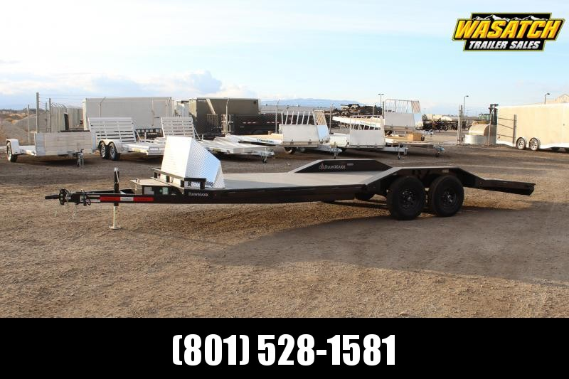 RawMaxx 85x20 Fancy Car Hauler Flatbed Trailer