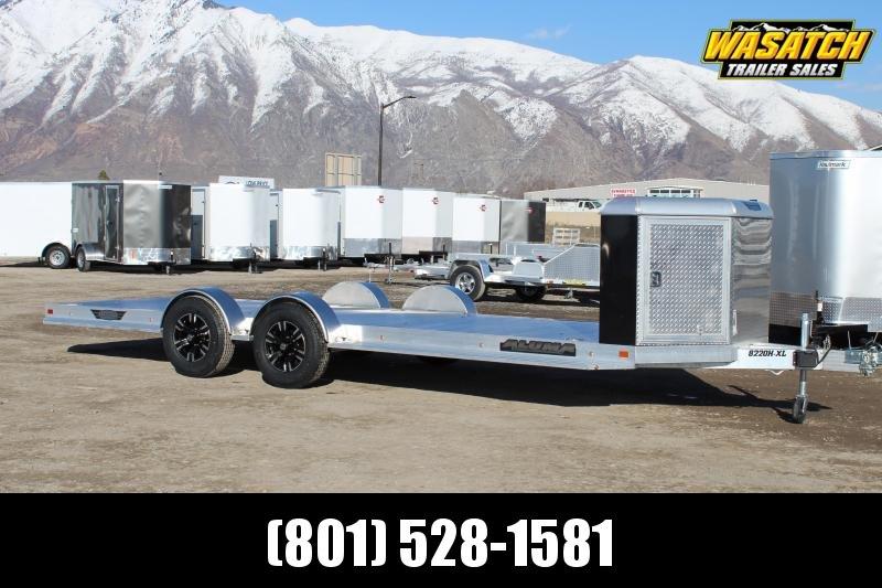 Aluma 8220H-XL Aluminum Car / Racing Trailer