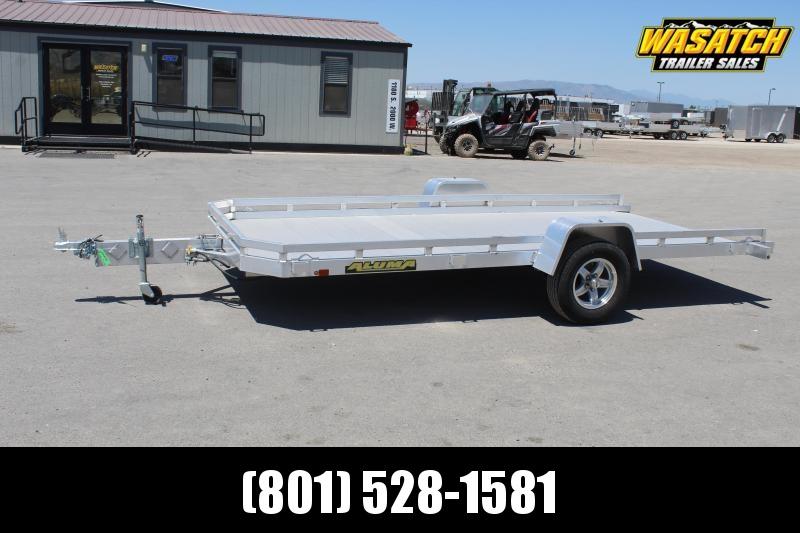 Aluma 7814 Tilt Aluminum Utility Trailer
