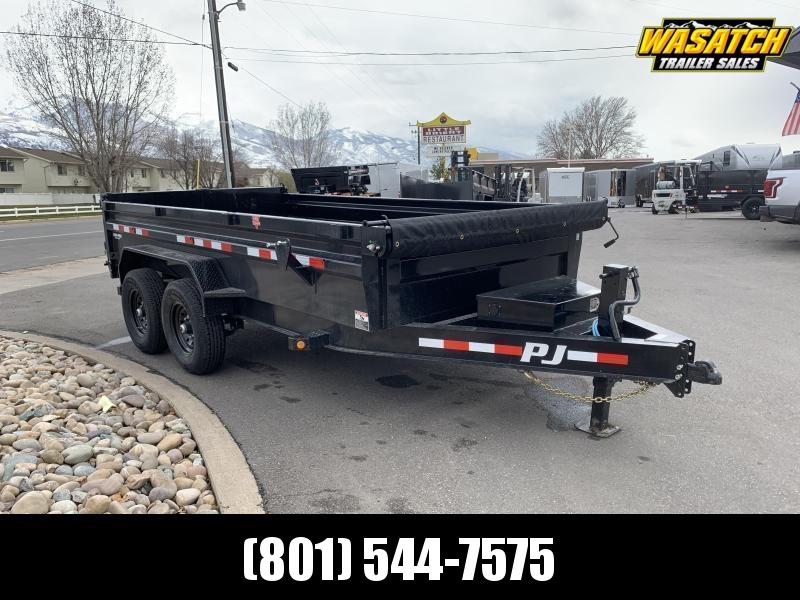 PJ 7x16 2' High Side (DL) Dump