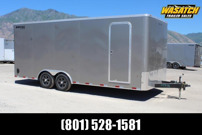 Southland Trailers 85x20 Royal Enclosed Car / Racing Trailer
